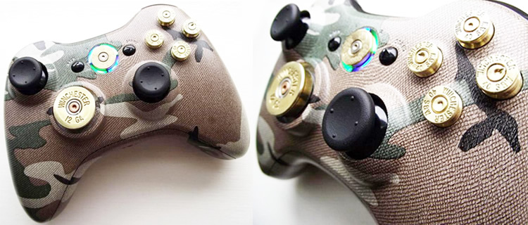 controle xbox Controles personalizados de Xbox 360