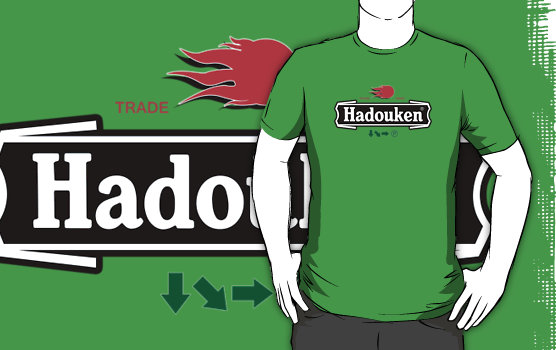 figgrass greenmensffffff Camiseta Hadouken Heineken
