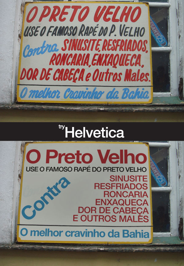helvetica3 Tente com Helvetica