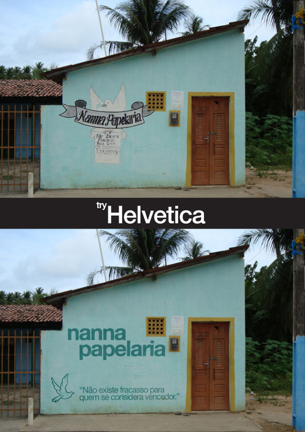 helvetica8 Tente com Helvetica