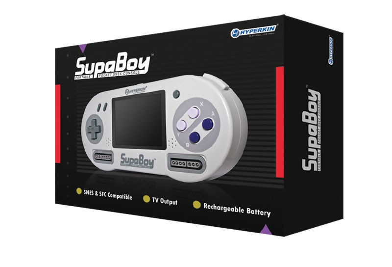 supaboy new box Super nes portátil