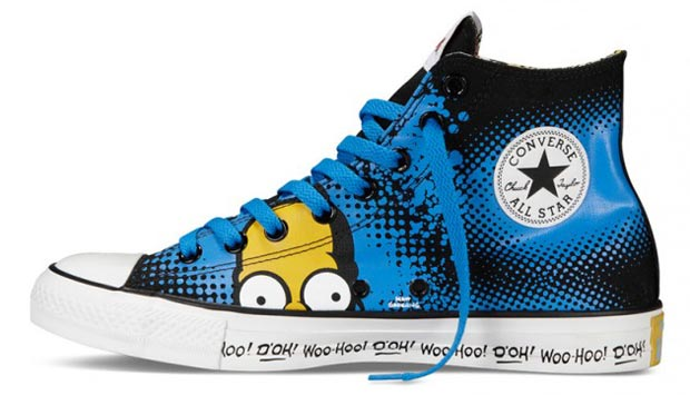 The Simpsons Converse 1 All star dos Simpsons