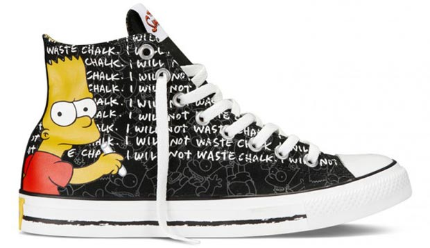 The Simpsons Converse 2 All star dos Simpsons