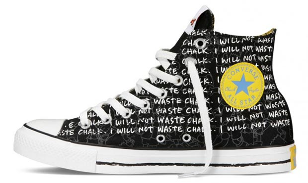 The Simpsons Converse 3 All star dos Simpsons