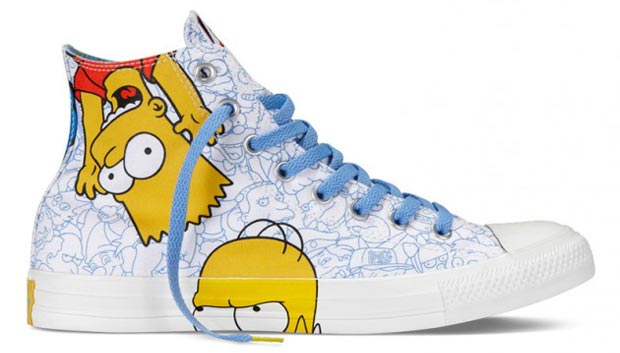 The Simpsons Converse 4 All star dos Simpsons