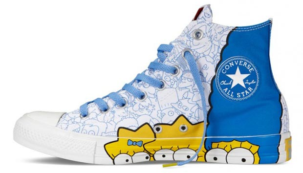 The Simpsons Converse 5 All star dos Simpsons