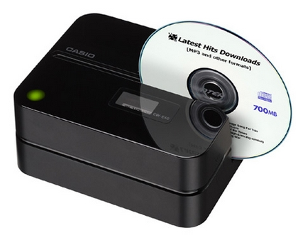casio printer dvd cd