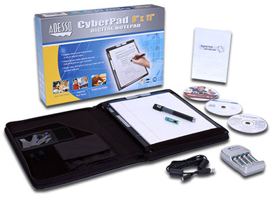 CyberPad contents
