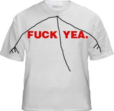 Camiseta FUCK YEA.