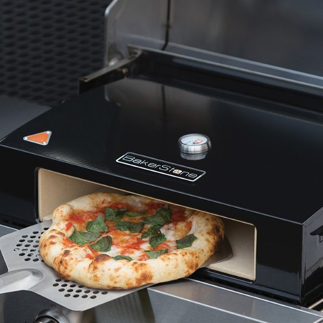 Mini forno de pizza caseiro